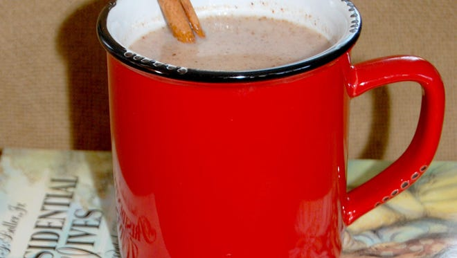 Spicy White Hot Chocolate