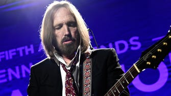 Tom Petty and the Heartbreakers perform at the Help Haiti Home' gala benefit on Jan. 9, 2016 in Los Angeles. (Buckner/Rex Shutterstock/Zuma Press/TNS)