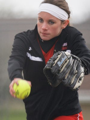 Oostburg's Mallory Grossenbach was a first team all-Central Lakeshore Conference pitcher a year ago after leading the conference in wins with 11.