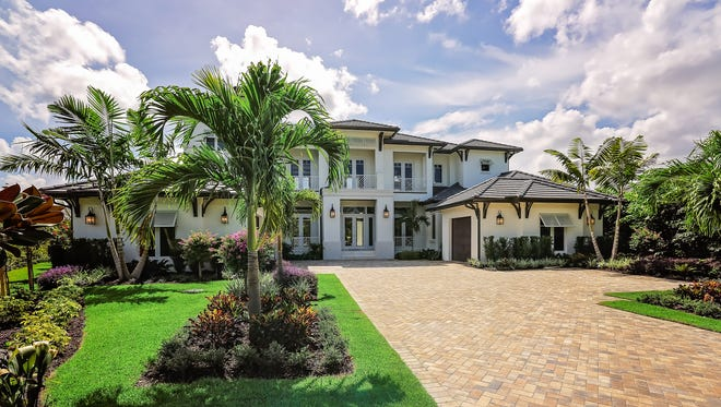 Daryl Silvers worked the details of this Royal Harbor home including the lot, architect and builder.