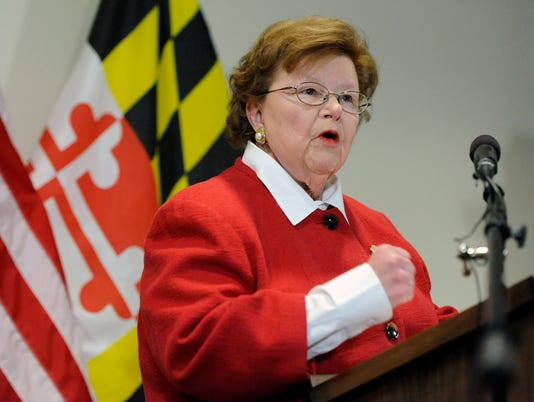 AP US MIKULSKI A ELN USA MD