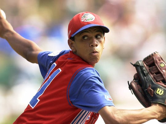 Little League World Series officials investigated Danny Almonte of Bronx, N.Y., after being shown a document that indicated Almonte might be two years older than allowed. The document indicated Danny Almonte was born April 7, 1987, in Moca, Dominican Republic, making him two years older than allowed by Little League.