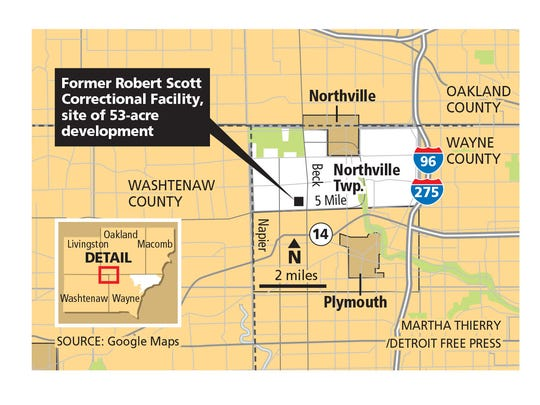 Former Robert Scott Correctional Facility, site of