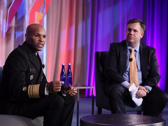 U.S. Surgeon General Dr. Jerome Adams and U.S. Chamber