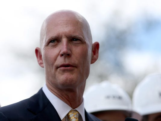 Florida Governor Rick Scott Appears At South Florida Event