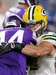 Green Bay Packers inside linebacker Blake Martinez