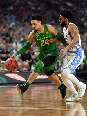 Oregon Ducks forward Dillon Brooks is working out for the Suns on Wednesday.