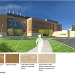 The proposed new science building at the Univeristy of Wisconsin-Stevens Point is expected to cost about $75 million.