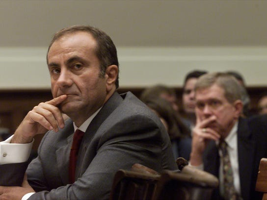 Ford CEO Jacques Nasser on Capitol Hill