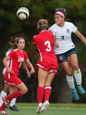 Varsity Girls Soccer: Lenape at Eastern