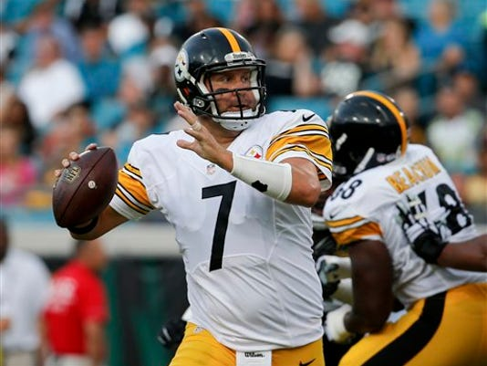 Pittsburgh Steelers quarterback Ben Roethlisberger came off the bench to lead the Pittsburgh Steelers to victory on Sunday.