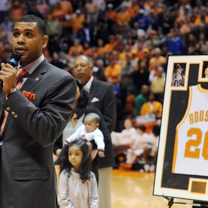 Allan Houston, former UT Vols and Knicks star, uses Hall of Fame induction to honor father