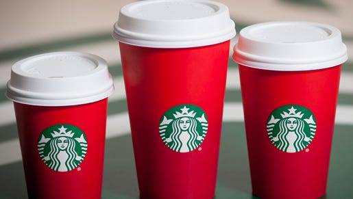 Some Christians are outraged that Starbucks' latest holiday cup features a plain red design instead of explicit references to Christmas.