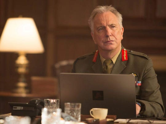 Alan Rickman stars as a general making the military's