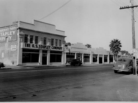 The O.S. Stapley building in the 1930s.