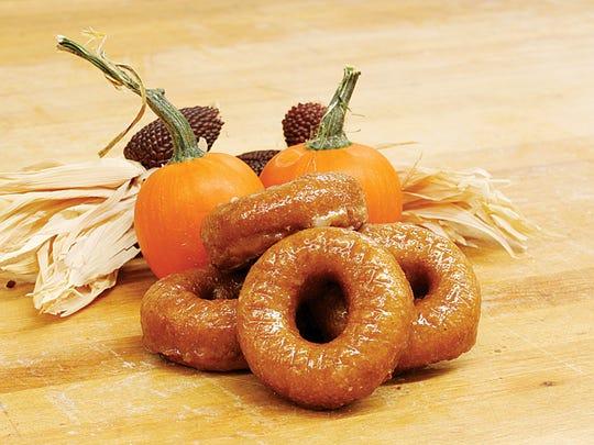 Roth's pumpkin donuts