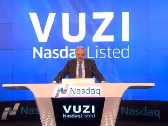 Paul Travers at the NASDAQ earlier this year.