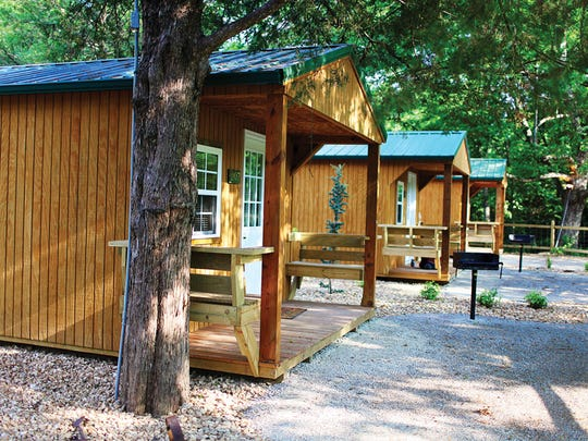 These cabins are just one of the additions from Dr.