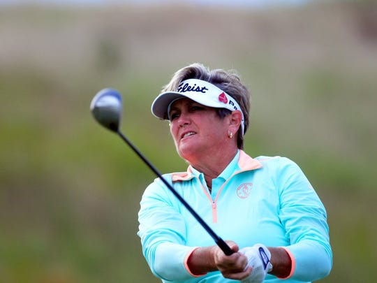 Laurie Rinker, a Stuart resident, will compete for the $100,000 top prize at the Senior LPGA Championship from Oct. 14-16 at French Lick Resort in Indiana.