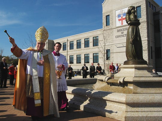 Diocese of Covington Bishop Roger J. Foys blesses attendees
