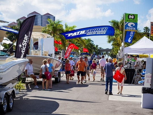 The Fort Myers Boat Show is moving to Downtown Centennial Park and the Yacht Basin.