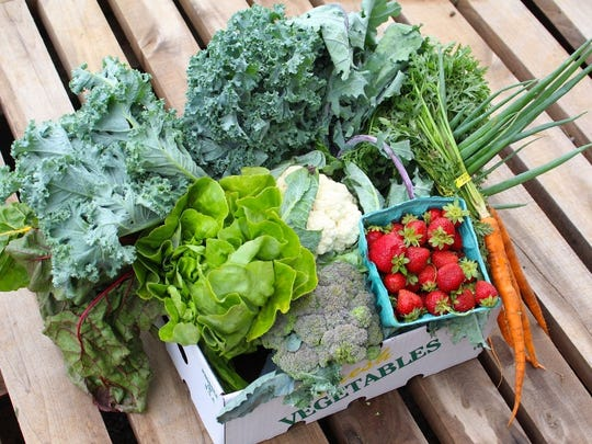 Green Door Gourmet is one of many local farms offering CSAs to provide you with local produce.