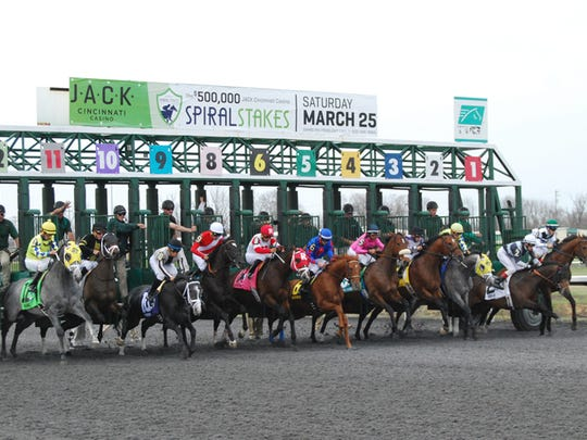 The 47th annual Spiral Stakes at Turfway will be March 17.