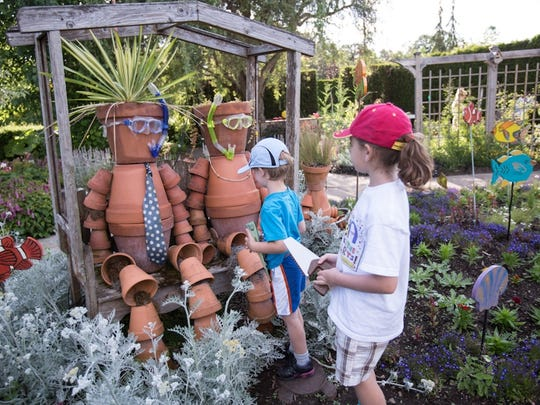 There's plenty to see and do in the Children's Garden at The Oregon Garden.