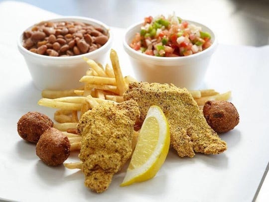 Bob's Fish Fry food truck serves catfish as its main