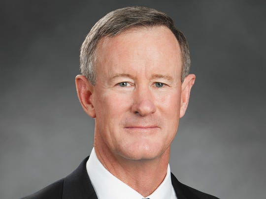 Retired Admiral William H. McRaven has a best seller