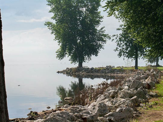 Lake Erie Metropark is the perfect place to catch a glimpse of migrating birds of prey.