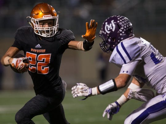 The Mason and Refugio high school football teams are set to meet in the playoffs for the fourth straight year Friday, Dec. 8, 2017, at the Alamodome in San Antonio.