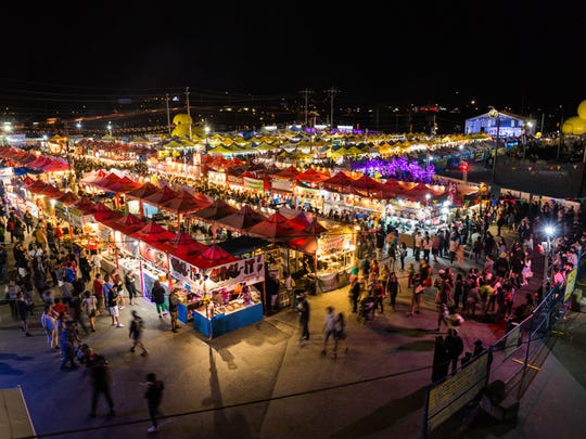 Richmond Night Market is the area's largest Asian night