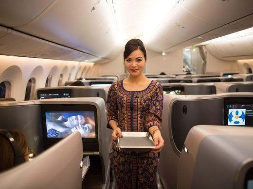 fa3e2957d657 World s longest flight  Singapore Airlines retakes title with Newark ...