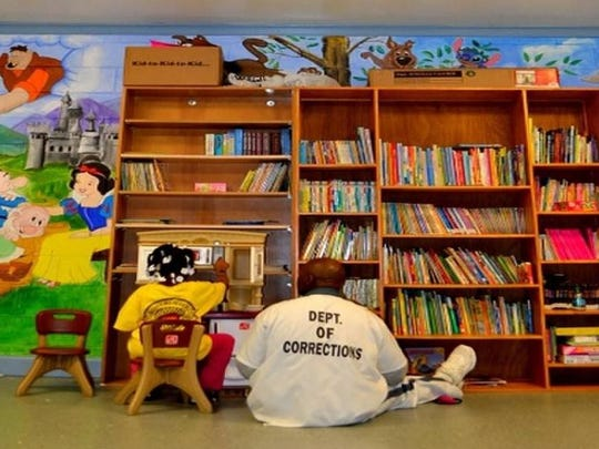 HeartBound Ministries works to connect children and incarcerated parents through the joy of reading