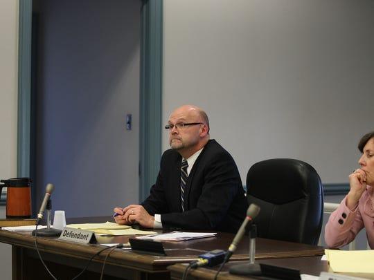 Defense attorney Gerard Nolan representing State Farm in the Everett family lawsuit settlement.