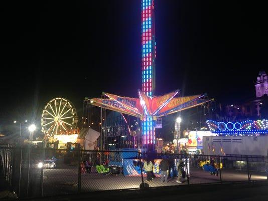 Chicken Island carnival