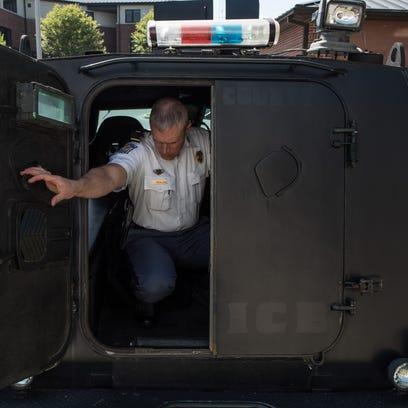 Salisbury Police Tactical Commander, Lieutenant Jason