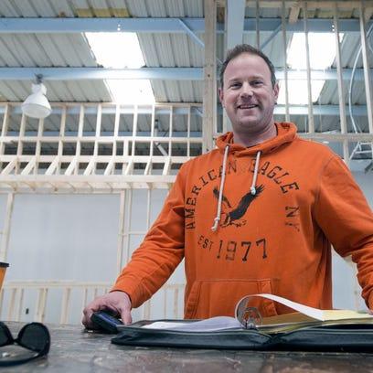 Joshua Shores, a founder of Ocean City Brewing Company,
