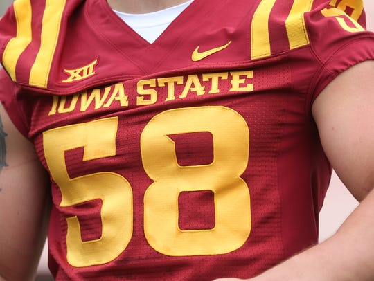 Former Iowa State football player Cory Morrissey began the tradition of a Cyclones player wearing No. 58 to honor Curtis Bray.