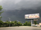 Cloud roll in over the Wawa in Lodi as a thunderstorm