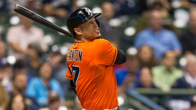 The Miami Marlins' Giancarlo Stanton has agreed to terms with the team on a $325 million, 13-year contract. It's the most lucrative deal for an American athlete.