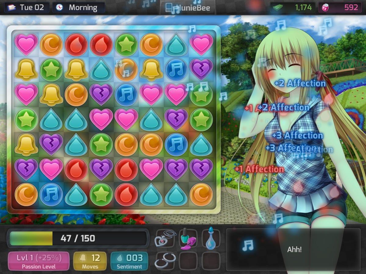 Game anime 18+ dating game