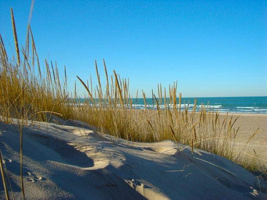 Indiana Dunes National Lakeshore and Indiana Dunes State Park.