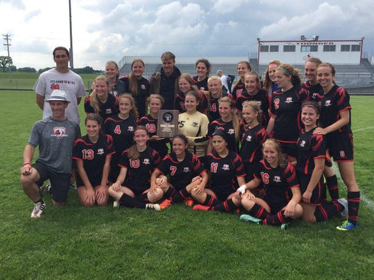 The Seymour girls soccer team rolled to a WIAA Division