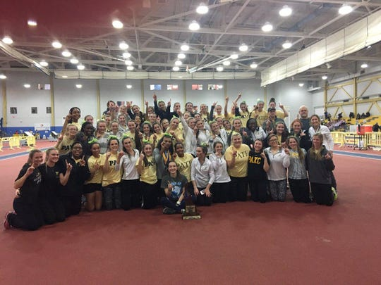 The Padua Indoor Track team won their fifth straight title at the DIAA Indoor Track State Championship.