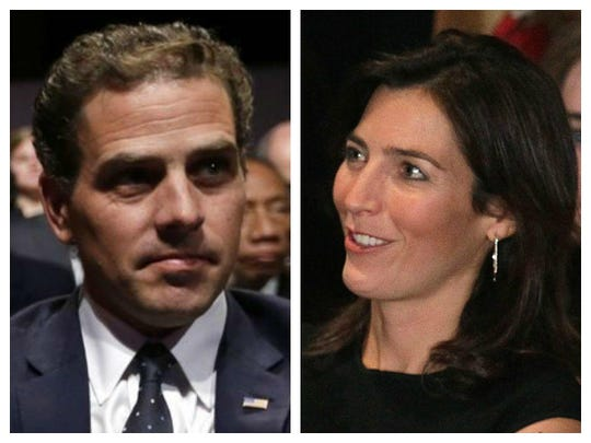 Hunter Biden and Hallie Biden
