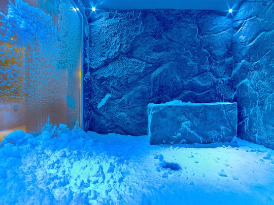 Viking has the only snow grotto on the sea