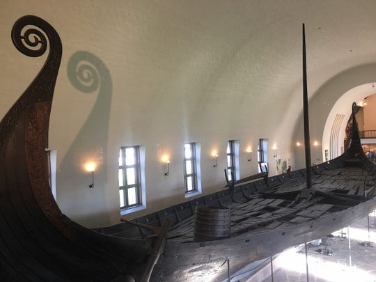 The highlight of The Viking Museum in Oslo is an original Viking ship