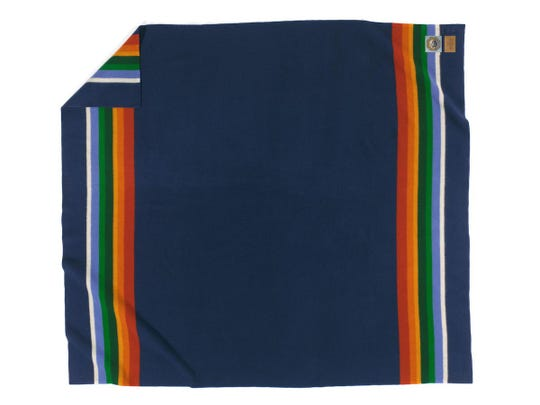 Crater Lake blanket from Pendleton's National Parks Collection